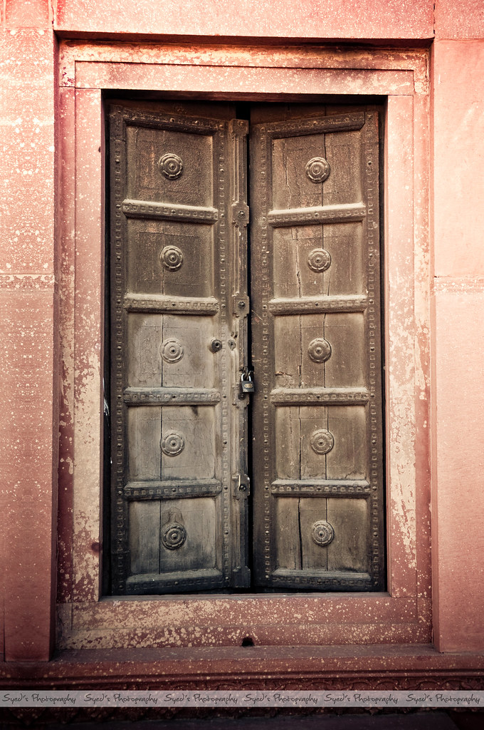 Old Door at Badshahi Masjid