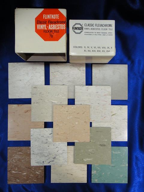 Flintkote Vinyl Asbestos Flexachrome Floor Tile Flickr