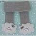 ♥ Hand knitted Miss Cloud Scarf ♥ by Little Emma K