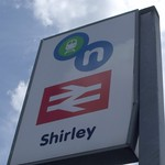 Shirley Station, Haslucks Green Road, Shirley
