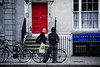 Dublin Cycle Chic - Parking Moment by Mikael Colville-Andersen