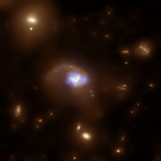 A Black Hole 'Slingshot' (NASA, Chandra, Hubble, 06/30/10)