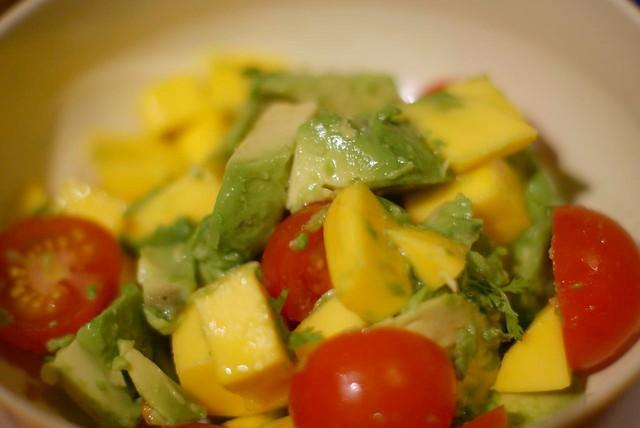 Mango avocado tomato salad | Flickr - Photo Sharing!