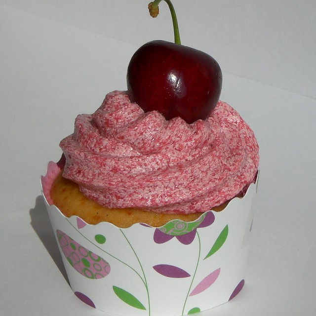 Cherry Cupcakes From Cake Mix