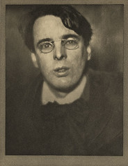 William Butler Yeats, by Alvin Langdon Coburn 1910