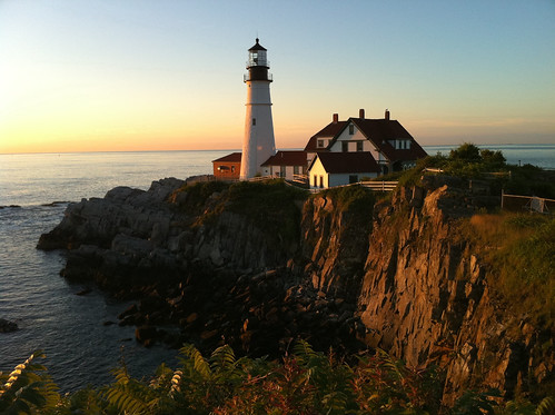 camera new england lighthouse beauty sunrise portland landscape coast elizabeth magic north maine cape headlight iphone