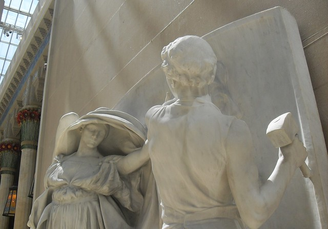 The angel of death and the sculptor by daniel chester french essay
