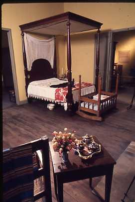 Madame John's Legacy bedroom