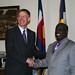Denver Mayor John Hickenlooper and Nairobi Mayor Geoffrey Majiwa