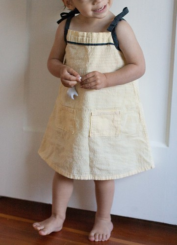 lemon popover sundress