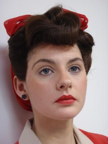 symlaleadde: 1940s makeup