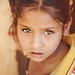 Hazel eyed girl. Jaipur, India