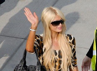 Paris Hilton in South Africa for 2010 World Cup