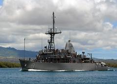 USS Pioneer (MCM 9). (U.S. Navy file photo)