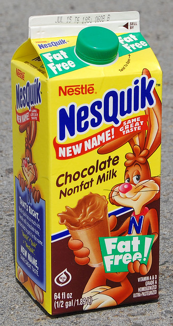 Nesquik Chocolate Milk, 2001
