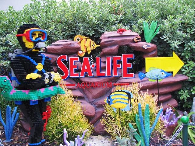 Sea Life Aquarium at Legoland, California | Flickr - Photo ...