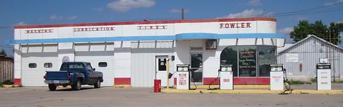 Fowler Service Station (Fowler, Kansas)
