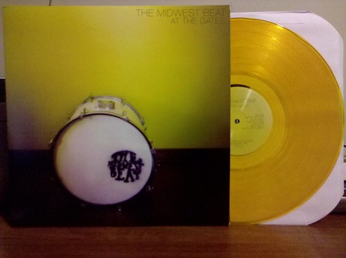 The Midwest Beat - At The Gates LP - Yellow Vinyl /100 by factportugal