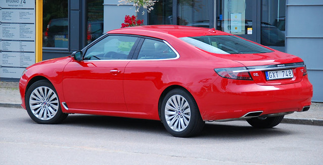 Vision of Saab 9-5 Coupe and 9-2 Coupe