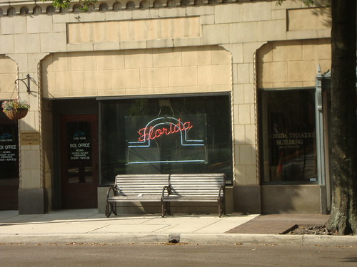 Neon Florida Theatre sign