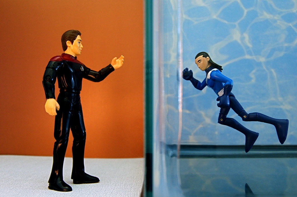 Wesley Crusher vs. Aqualad (198/365)