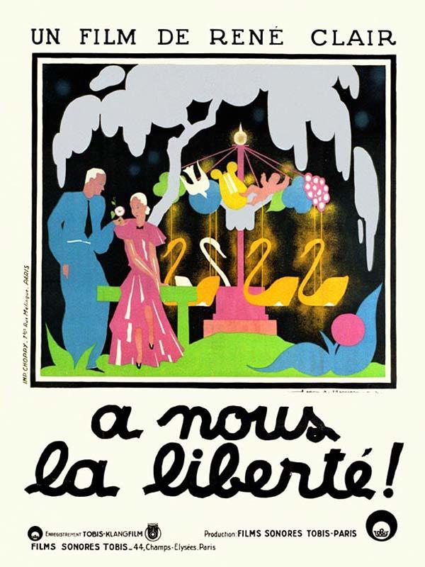 René Clair [ À nous la liberté ] 1931