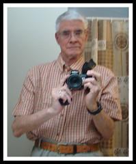 Peter Ellis and his camera July 2010