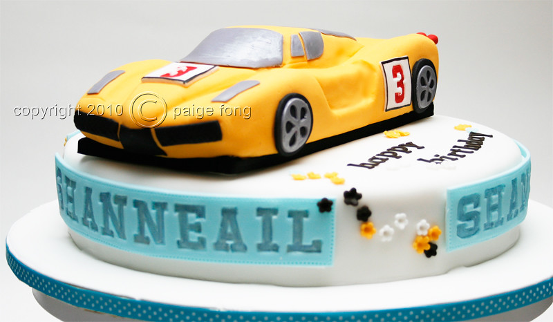 Birthday Cakes Sports Cars Image Inspiration of Cake and Birthday