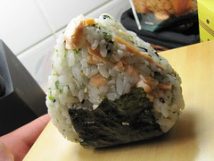 meal, steamed rice, rice, sushi, food, dish, cuisine, onigiri,