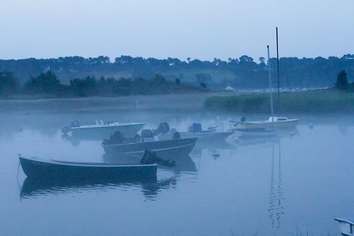 fog sunrise capecod harwich roundcove