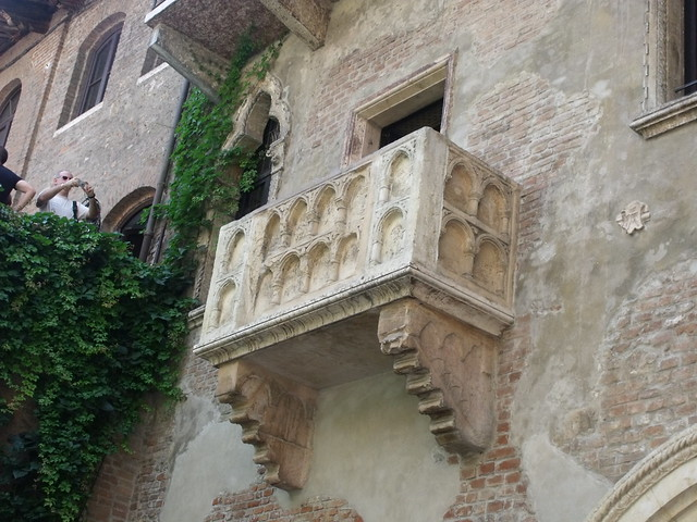 Juliet's House, Via Cappello, Verona - Balcony