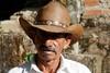 Coffee farmer in Changaimina