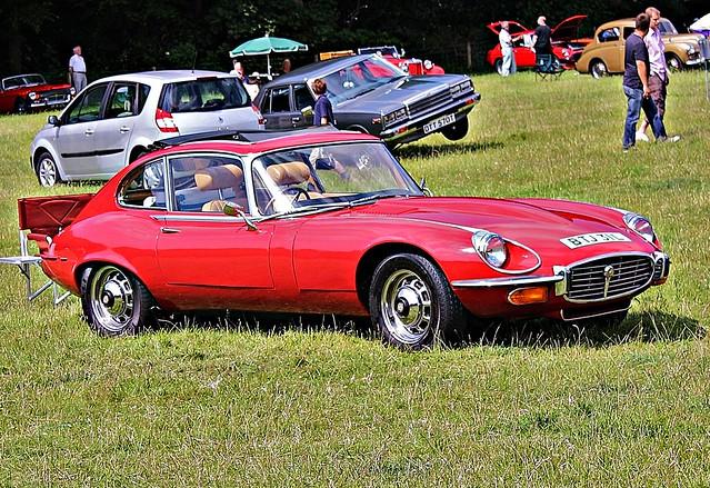1972 Jaguar E-Type V12 2+2 Front | Flickr - Photo Sharing!