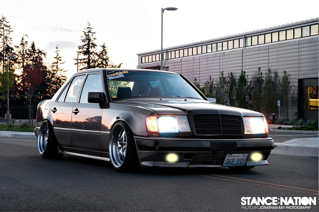 The mercedes stancenation form function for Mercedes benz 1990 e300