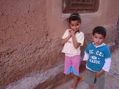 Crianças em Tassoumaat