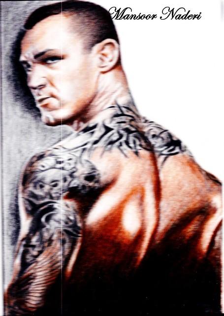 Randy orton dove tattoo