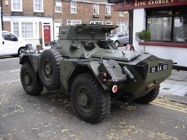 1960 ferret armored scout car fv701 mk autos post. Black Bedroom Furniture Sets. Home Design Ideas