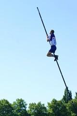 athletics, sports, pole vault, outdoor recreation, person,