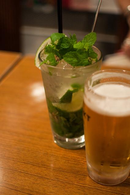 Mojito and Beer | Flickr - Photo Sharing!