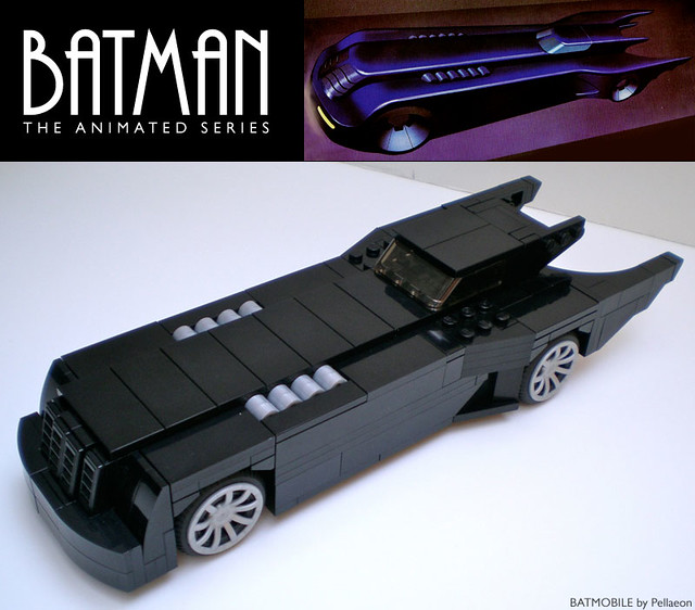 lego batmobile from batman the animated series flickr photo sharing. Black Bedroom Furniture Sets. Home Design Ideas