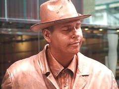 Bronze Painted Entertainer