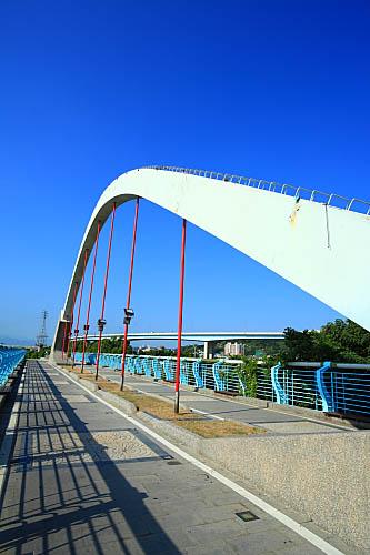 312J八里左岸自行車道-觀音坑溪橋