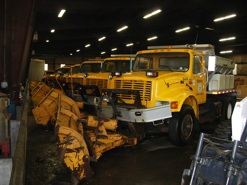 Erie, Pa Snow Plow Fleet