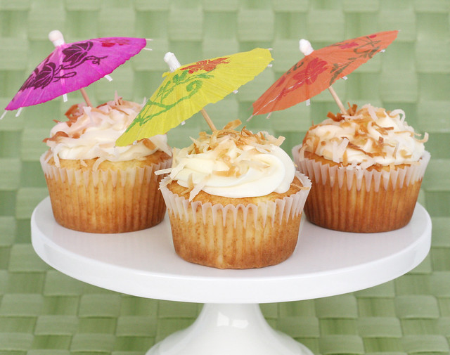 Pina Colada Cupcakes | Flickr - Photo Sharing!