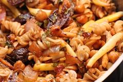 kung pao chicken, food, dish, rotini, cuisine,
