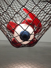 symmetry, red, net,