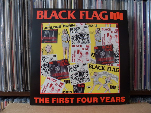 Black Flag - The First Four Years LP