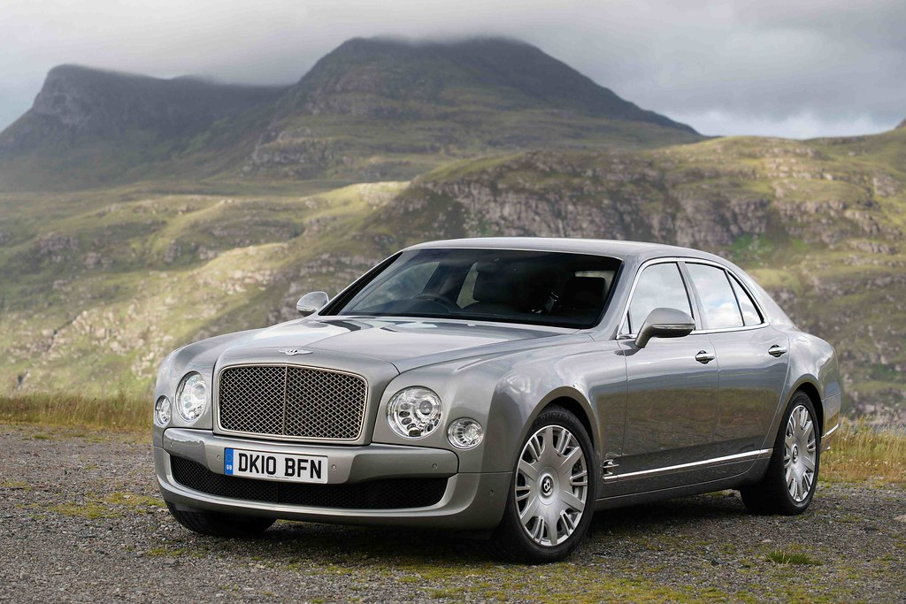 2011 Bentley Mulsanne in Scotland