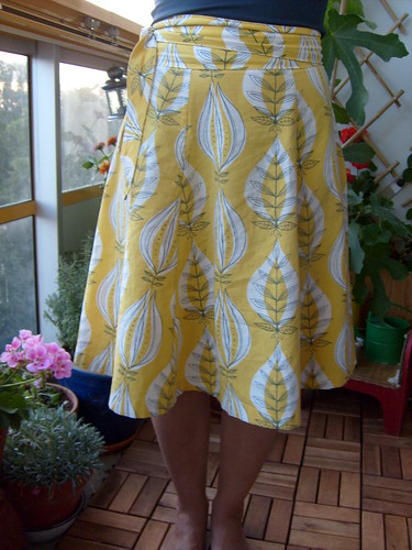 Yard Sale Skirt in Vintage Fabric