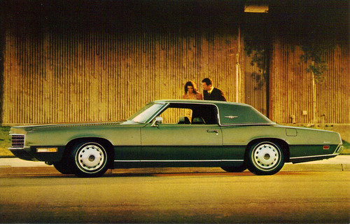 1971 Ford Thunderbird Landau 2 door coupe